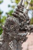 Cabeças de pedra do naga Foto de Stock