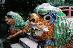 Cabeças do dragão Fotografia de Stock