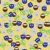 Cabeças ridículas Foto de Stock