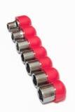 Cabeças tubulares da chave foto de stock royalty free