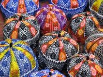Cabeças vietnamianas coloridas fotografia de stock royalty free
