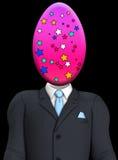 Cabeça do ovo da páscoa Imagens de Stock
