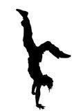 Cabeça sobre os saltos Imagem de Stock Royalty Free