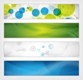 Cabecera abstracta del Web site Imagen de archivo libre de regalías