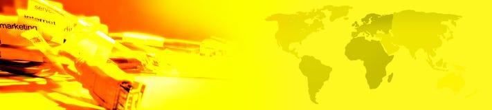 Cabecera - bandera ilustración del vector