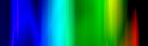 Cabecera/bandera del Web del arco iris stock de ilustración