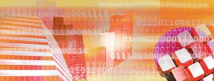 Cabecera del Internet (vector) ilustración del vector