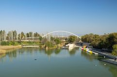 Cabecera Park in Valencia, Spain stock photo
