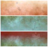 Cabeceras de Grunge con las manchas de óxido Imagen de archivo