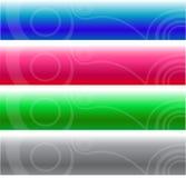 Cabeceras del Web site Imágenes de archivo libres de regalías