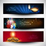 Cabeceras o banderas del Web site de Diwali.