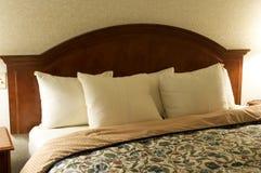 Cabecero de la cama Foto de archivo
