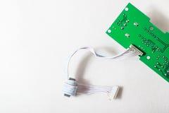 Cabel e bordo di verde Immagine Stock
