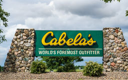 Cabela's Retail Store Exterior Stock Photography