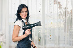 Cabeleireiro da mulher Fotografia de Stock Royalty Free