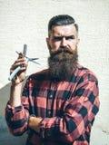 Cabeleireiro do moderno do homem novo Imagens de Stock Royalty Free