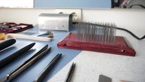Cabeleireiro e acessórios do barbeiro filme