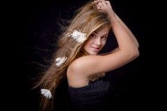 Cabelo bonito Foto de Stock Royalty Free