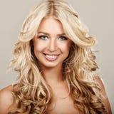 Cabelo Curly Fotos de Stock Royalty Free