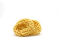 Cabelo de anjo dos espaguetes Fotografia de Stock Royalty Free