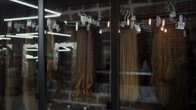 Cabelo falso Cabelo para a extensão do cabelo 4K filme