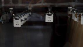 Cabelo falso Cabelo para a extensão do cabelo 4K video estoque