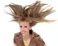 Cabelo-headdres-coiffure Imagem de Stock