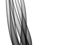 cabelos 3d abstratos ilustração royalty free