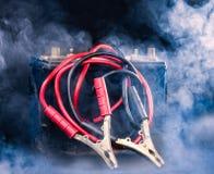 Cabels e batteria immagine stock