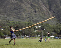 Caber Caper Stock Photo