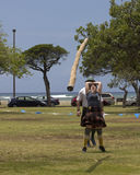 Caber Toss Stock Photos
