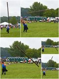 Caber Tossing royalty free stock photos