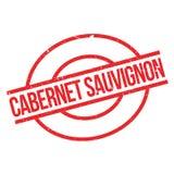Cabernet Sauvignon rubber stamp Stock Image