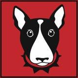 Cabeza de bull terrier del vector libre illustration