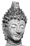 Cabeza de BW Buda Imagenes de archivo