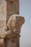 Cabeza de caballo, persepolis Imágenes de archivo libres de regalías