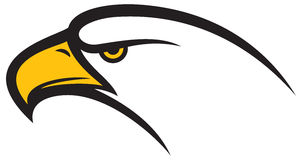 Cabeza de Eagle ilustración del vector