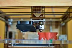 cabeza de impresión 3D Fotos de archivo