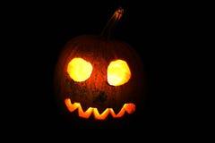 Cabeza de la calabaza de Halloween foto de archivo libre de regalías