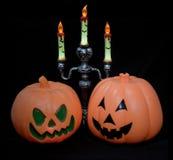 Cabeza de la calabaza de Halloween Imágenes de archivo libres de regalías