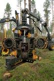 Cabeza de la máquina segador de Ponsse H7 Imágenes de archivo libres de regalías