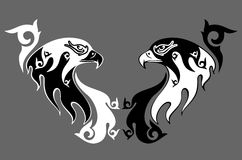 Cabeza de un águila Imagen de archivo libre de regalías
