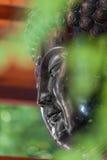 Cabeza de un Buda Fotografía de archivo