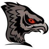 Cabeza del águila de la historieta Imágenes de archivo libres de regalías