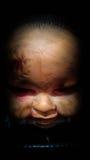 Cabeza del bebé de Halloween Imagen de archivo libre de regalías