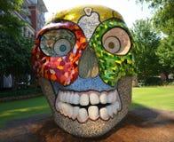 Cabeza del cráneo Fotografía de archivo libre de regalías
