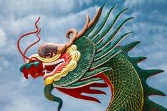 Cabeza del dragón Foto de archivo libre de regalías