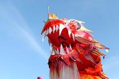 Cabeza del dragón de China Foto de archivo libre de regalías