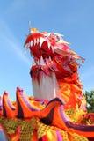 Cabeza del dragón de China Imagen de archivo libre de regalías