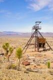 Cabeza del eje de mina Imagen de archivo libre de regalías